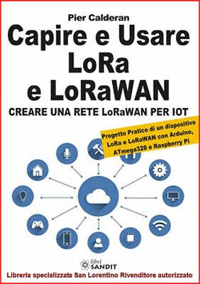 LORA LORAWAN CAPIRE E USARE CREARE UNA RETE PER IOT ARDUINO ATmega328 Raspberry